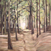 Forest2, oil on canvas, 140 x 100cm